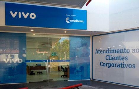 Vivo Empresas: Ecotelecom Filial Presidente Prudente