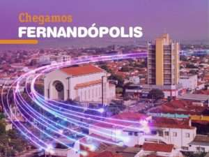 Vivo Internet Fibra em Fernandópolis