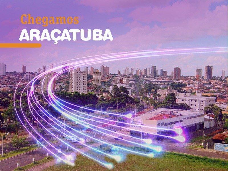 Vivo Internet Fibra em Araçatuba