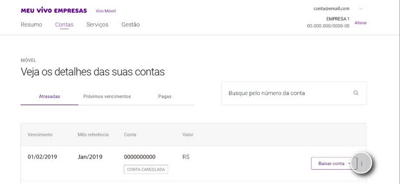 Meu Vivo Empresas: conheça as funcionalidades da nova plataforma - Vivo Empresas - Ecotelecom